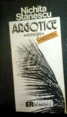 Argotice (Cantece la drumul mare) - Versuri foto