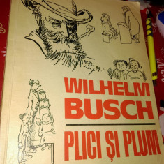 Plici si Plum de Wilhelm Burch, benzi desenate (1971)