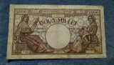 2000 lei 10 octombrie 1944 Romania