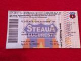 Bilet meci fotbal STEAUA BUCURESTI - GALATASARAY (27.08.2008)