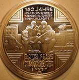 A.772 GERMANIA 150 JAHRE ROTES KREUZ 10 EURO 2013 A PROOF ARGINT .625/16g