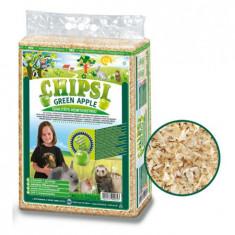 Chipsi Green Apple 60 L, Asternut igienic rozatoare