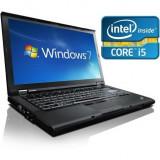 Laptop Lenovo ThinkPad T410, i5-520M, 4GB DDR3, 250GB HDD, DVD-RW, Win 10 Pro