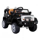 Masinuta electrica Jeep JJ, 2 viteze, cu telecomanda, negru