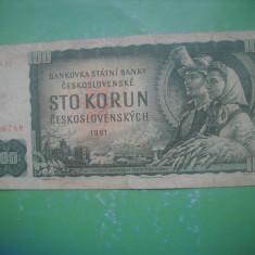 HOPCT  CEHOSLOVACIA 100 KORUN 1961 [ 2 ]