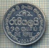 12216 MONEDA - SRI LANKA - ONE RUPEE  -ANUL 2004 -STAREA CARE SE VEDE