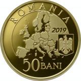 Romania 50 Bani 2019 Presedintia UE proof