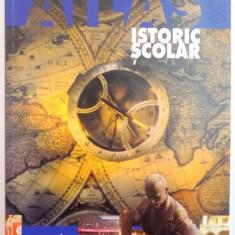 ATLAS ISTORIC SCOLAR , DE LA 1830 PANA IN ZILELE NOASTRE , VOL II , DE IANCU MOTU , 2001