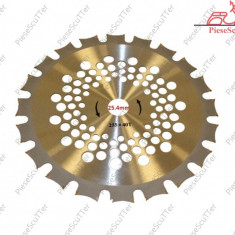 Disc Taietor - Lama Trimmer VIDIA Dublu MotoCoasa  40 dinti - 255
