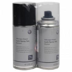 Set Spray Vopsea + Lac Oe Volkswagen Deep Black Pearl LLS0P6C9X