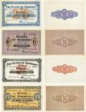REPRODUCERI  lot 4  Guernsey. Ocupația germană. 1941 Primele bancnote
