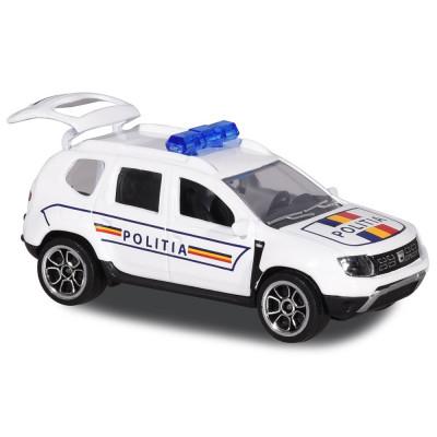 Masina de politie Majorette Dacia Duster foto