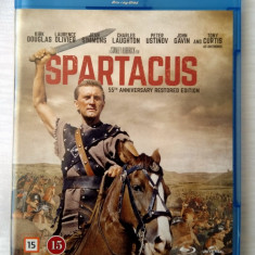 SPARTACUS [1960] (BLU-RAY, IMPECABIL, ENGLEZĂ), BLU RAY, Engleza