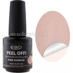 Pink Sunrise 15ml - gel LED/UV, PEEL OFF
