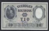 A5163 Sweden Suedia 10 kronor 1958 SEMNATURI DIFERITE UNC UNC