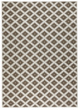 Covor Modern & Geometric Twin, Maro, 80x350, Bougari