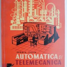 Automatica si telemecanica – Sergiu Calin