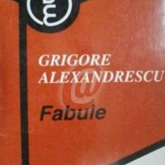 Fabule (Alexandrescu)