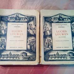 LUCIEN LEUWEN - 2 Vol. - STENDHAL - Paul JACOB-HIANS (ilustrations) - 1929, Alta editura