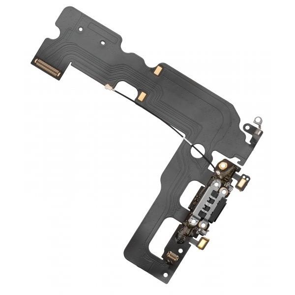 Banda flex cu conector de alimentare / microfon pentru APPLE iPhone 7 (Negru)