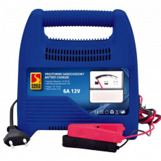 Redresor Incarcator Auto Baterii cu Plumb, 12V 6A, 90W