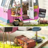Cumpara ieftin Mini Rulotă 3D Puzzle DIY