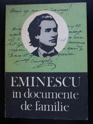 Gh. Ungureanu (ed.) - Eminescu în documente de familie foto