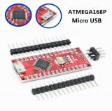 Arduino Nano micro USB V3.0 cu ATMEGA168P / 16MHz / CH340 USB driver (a.661)