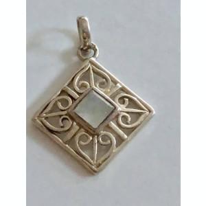Argint PANDANTIV CU PIATRA LUNII