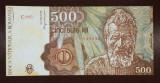 500 lei Ianuarie 1991 Circulata