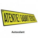 Autocolant -Atentie! Gabarit depasit!- trailer