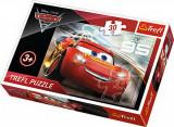 Puzzle clasic copii - Cars Fulger McQueen 30 piese