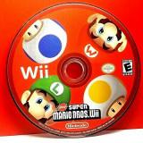 Wii New Super Mario Bros original Nintendo si pt wii u , mini, Actiune, Toate varstele, Multiplayer