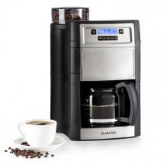 Klarstein Aromatica II, mașină de cafea, râșniță, 1.25 l, argintiu