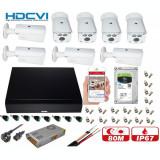 Cumpara ieftin Kit supraveghere video profesional 8 camere Rovision OEM DAHUA 2MP IR 80m , accesorii incluse, HDD 1TB