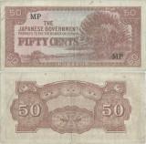 1942 , 50 cents ( P-M4b ) - Malaya