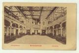 cp Herculane - circulata 1907, timbru maghiar