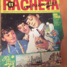 RACHETA CUTEZATORILOR  Nr 11  ( Anul 3  ) Noiembrie   1971