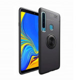 Husa Samsung Galaxy A9 (2018) - iberry Ring Case Negru