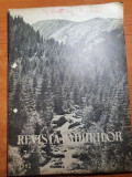 revista padurilor iulie 1962-fagul in moldova,art. techirghiol,padurea barbosi