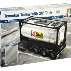 1:24 TECNOKAR TRAILER with 20ft TANK 1:24