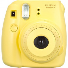 Camera foto instant Fujifilm Instax mini 8 galben