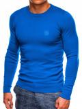 Cumpara ieftin Bluza barbati E122 - albastru, XL