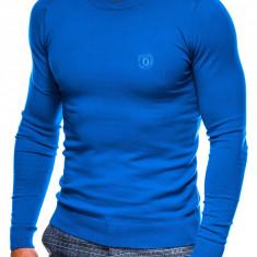 Bluza barbati E122 - albastru