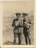 Fotografie ofiteri romani cavalerie armata regala romana