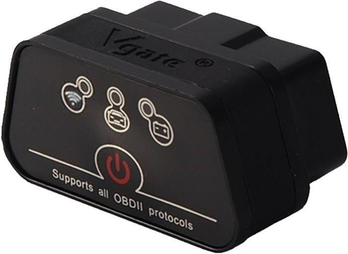 Interfata Diagnoza Multimarca Vgate, ICar2, Black, Bluetooth, OBD2