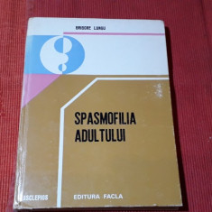 Grigore Lungu - Spasmofilia adultului -Es.Facla Timisoara 1982