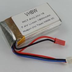 Acumulator pentru huajun w606-3c quadrocopter, 7.4v, 1800mah, ,