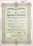 2000 Reichsmark titlu de stat Germania 1941