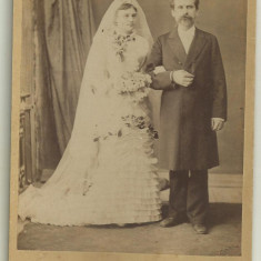 Fotografie pe carton W.Bethier Craiova - secolul XIX